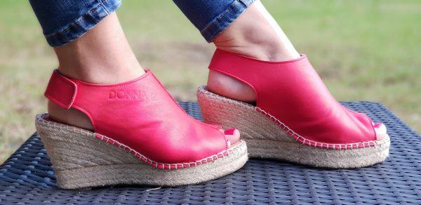 lucia rojo producto calzado