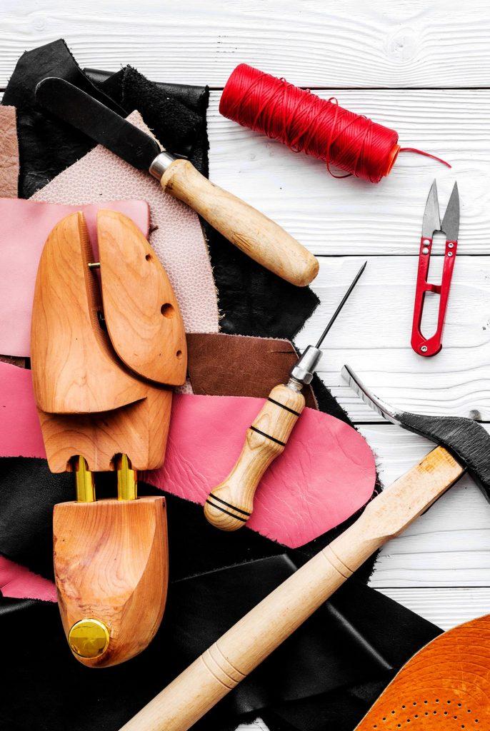 herramientas calzado