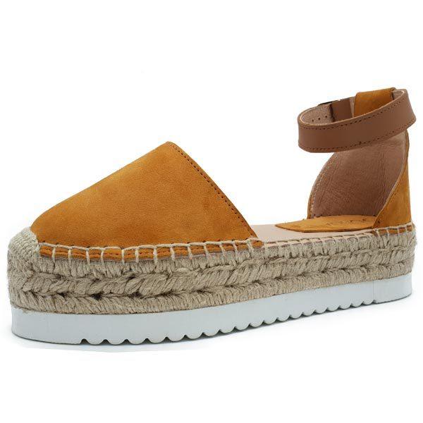 producto princesa mostaza calzado
