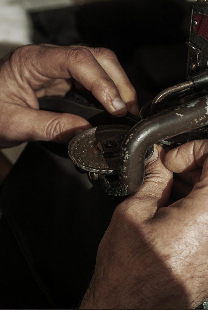 coser calzado